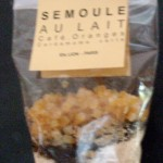 Semoule au lait Café – orange