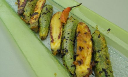 Courgettes aux agrumes.