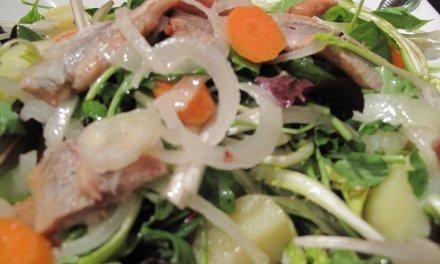 Salade de pommes de terre au hareng fumé  !