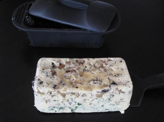 Terrine champignons et foie gras