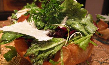 feuilles de brick et légumes croquants !