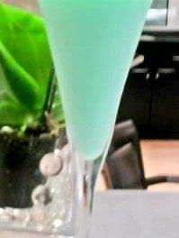 Le grasshopper c'est le cocktail de ce vendredi !
