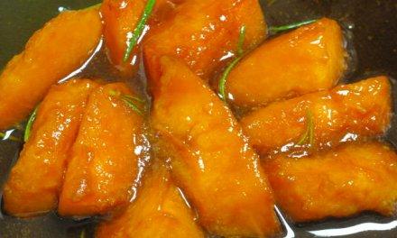 Poêlée de melons au romarin