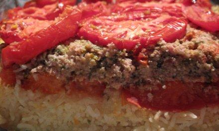 Couchons les tomates farcies.