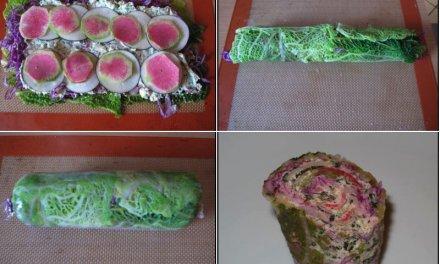 Makis de légumes