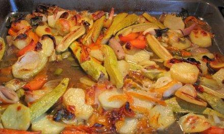 Légumes au four so good.