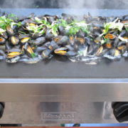 Moules cuisson plancha