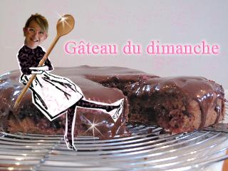 Gâteau maison chocolat