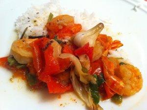 recette de crevettes
