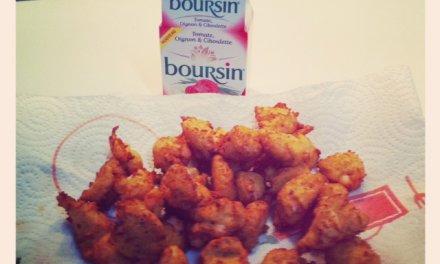 Beignets de crevette au Boursin