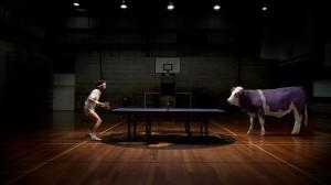 la Vache Milka au sport