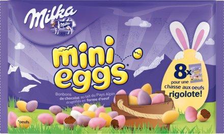 Les Mini eggs Milka c'est pour toi !