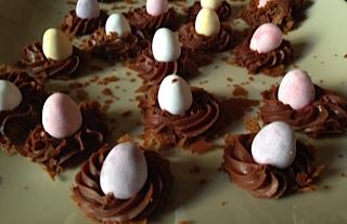 Recette de chocolats pour Pâques.