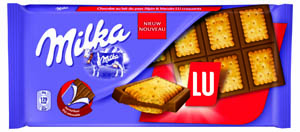 LU et Milka , joli couple !