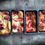 dessert far aux fraises