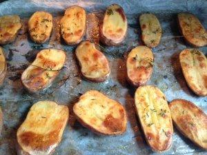 recette rapide de pommes de terre cuites au four