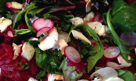 Recette de Salade composée, je veux de la couleur !