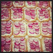 biscuit salé au radis