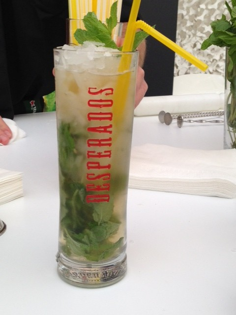 cocktail à base de bière et mojito