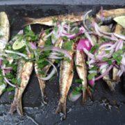 les sardines au grill