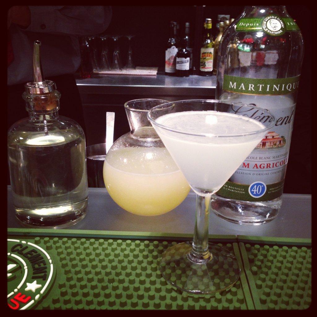 le daiquiri cocktail à base de rhum