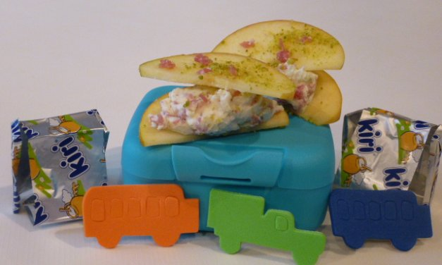Tartines de pomme au Kiri® (cadeau à gagner)