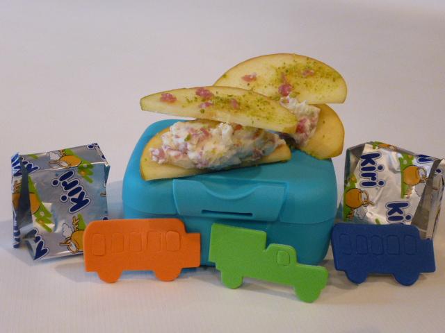 du fromage au gouter avec des tartines de Kiri®