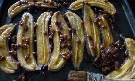 Bananes au rhum