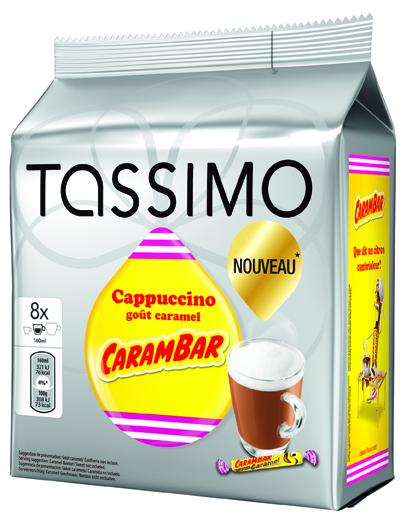 saveurs cappuccino caramel carambar