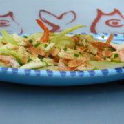 salade de crevette et fromage leerdammer