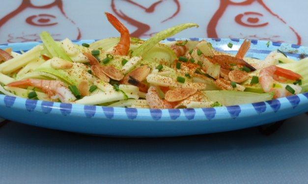 Salade composée de la mer au fromage Leerdammer®
