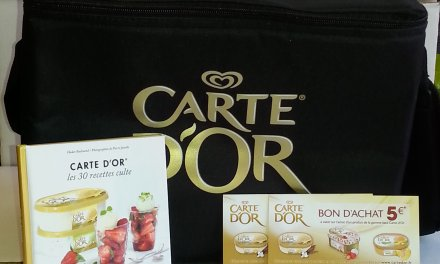 Carte d'Or  (jeu inside) dessert glacé