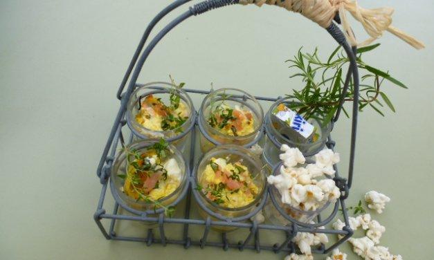 Mug-quiche petits-pois au fromage Kiri®