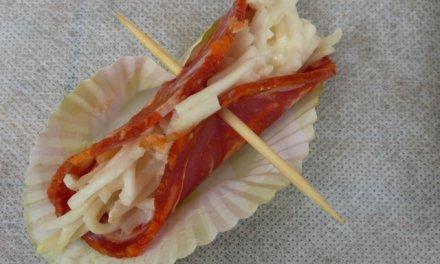 Chorizo / céleri rémoulade/apéro