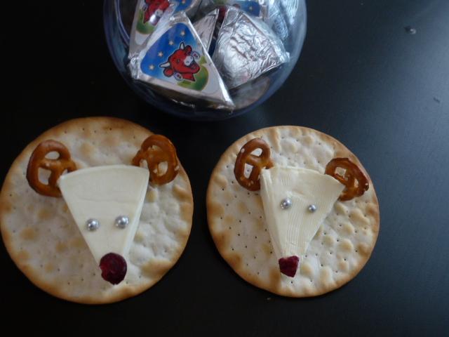 trop mignonnes les rennes du Père Noël La vache qui rit®