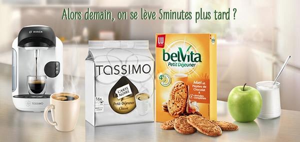 Réveil tout doux avec TASSIMO et BELVITA