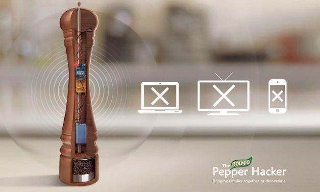 Dolmio Pepper Hacker et zou plus de WIFI