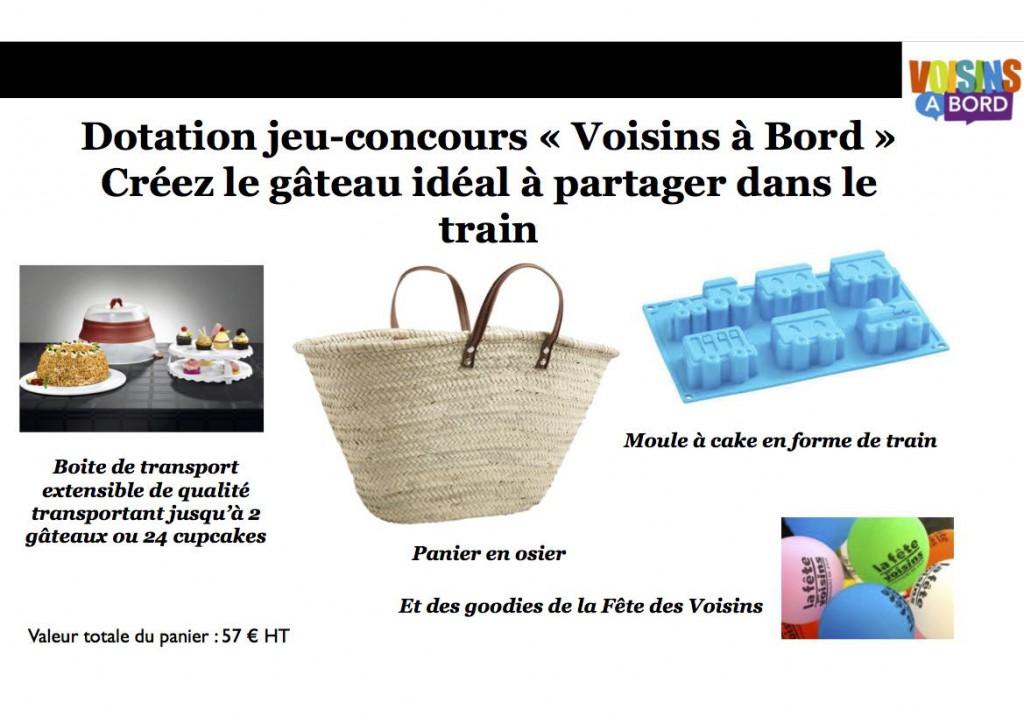 Dotation Jeu concours Voisins à Bord
