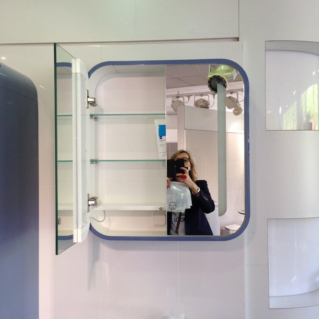 Le retour de l armoire glace d co vintage anne h l ne - Armoire a glace salle de bain ...