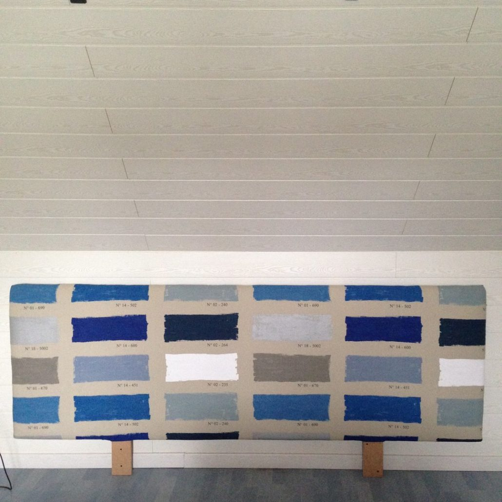tete de lit en tasseau ides copier pour des ttes de lit originales diy raliser une tte de lit. Black Bedroom Furniture Sets. Home Design Ideas