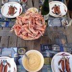 La cuisson des langoustines