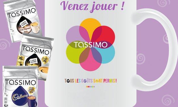 Jeu Tassimo, un joli lot à gagner. n'hésitez pas à participer