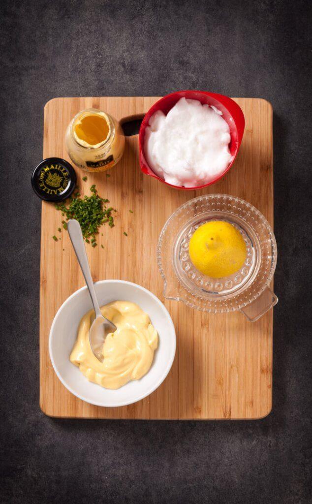 sauce minutes pour asperges et autres