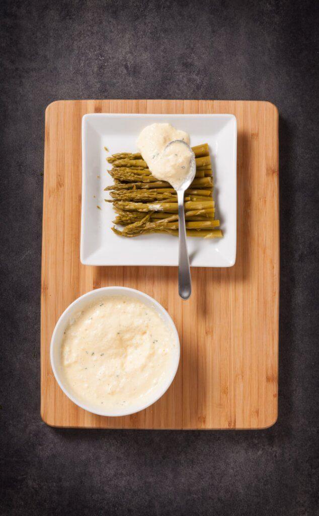 Sauce pour asperges et autres