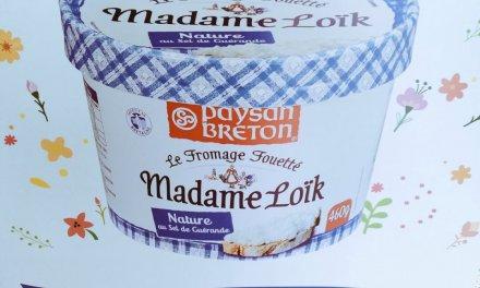 fromage fouetté de Madame Loïk.