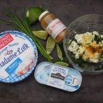 Bricks de sardines au fromage frais