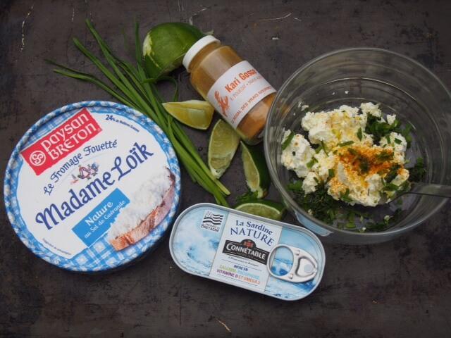 Bricks de sardines au fromage frais anne h l ne - Cuisiner des filets de sardines fraiches ...