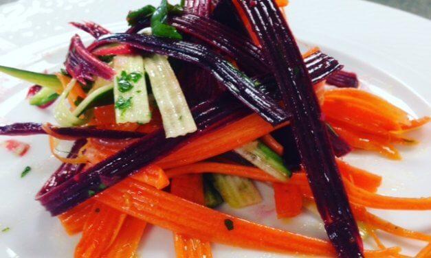 Salade de carottes toutes crues