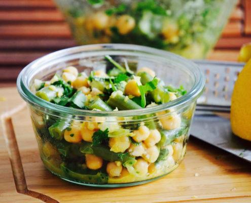 salade haricot vert