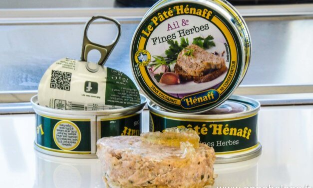 Pâté Hénaff  ail et fines herbes ! Big up